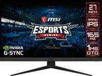 "Monitor Msi 27"" 2560 X 1440 Optix G273Qf Czarny"