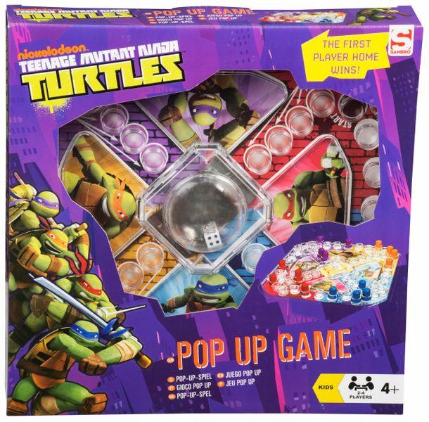 Gra planszowa chińczyk żółwie ninja dla 4 osób zdjęcie 1