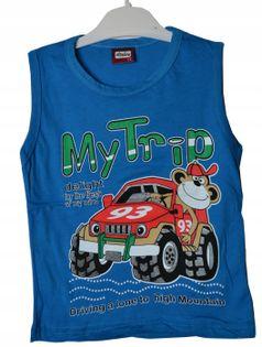 Koszulka chłopięca MyTrip, bawełna roz.104