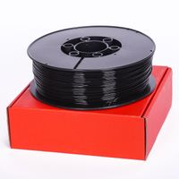FILAMENT PET-G 1,75 mm CZARNY 1 kg Plast-Spaw