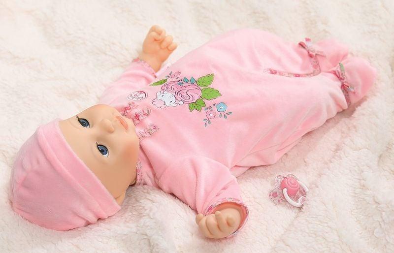 BABY ANNABELL LALKA INTERAKTYWNA 8 FUNKCJI GIRL 794401 zdjęcie 7