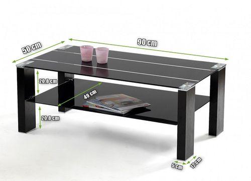 Stolik ława szklana stół kawowy hartowany stoliki ławy szklane kawowe na Arena.pl