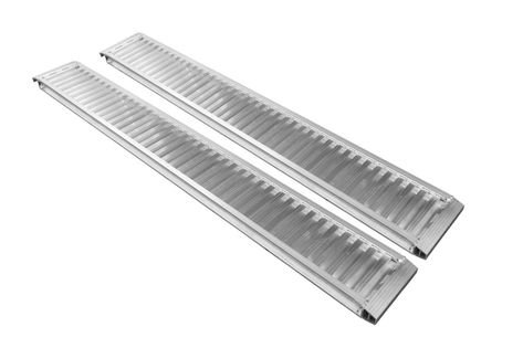Komplet 2 szt. najazdy aluminiowe 2,5-metrowe 3500 kg