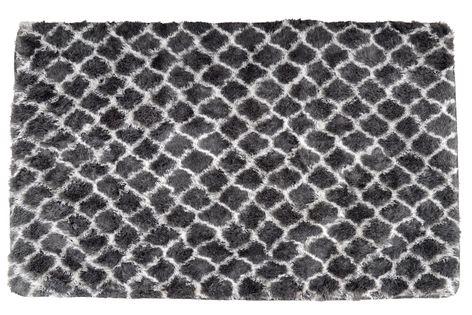 Mięciutki Wysoki Dywan Pluszowy SHOK PLUSZ 120x170 CLOVER GREY