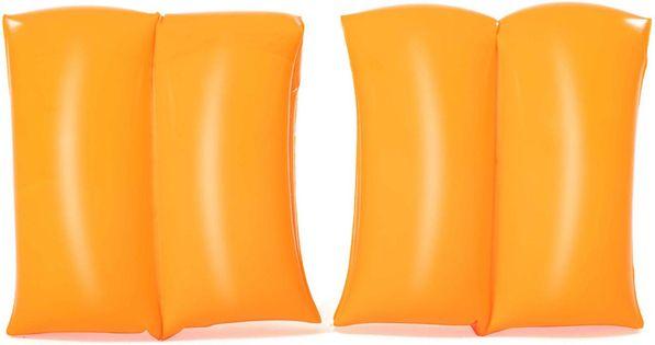 """RĘKAWKI """"FLUO"""" Kolor - Akcesoria nadmuchiwane - 75 - pomarańczowe"""