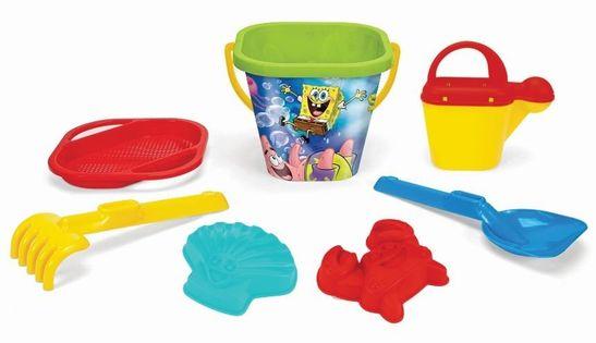 SpongeBob komplet do piasku 7 el. WADER 81642