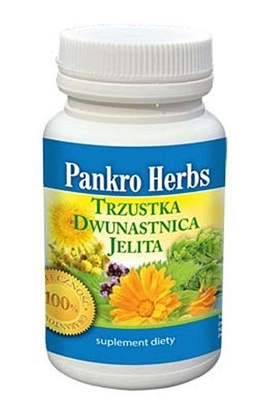 Pankro Herbs trzustka dwunastnica jelita 60 kaps. na Arena.pl