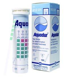 100 szt Pasków Testowych do Twardosci wody Aquadur