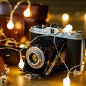 Lampki kulki świąteczne 200 LED na baterie i pilota zdjęcie 9
