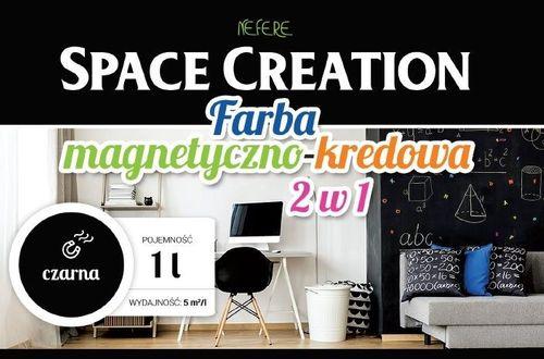 Farba 2w1 TABLICOWA MAGNETYCZNA Space Creation 1 litr na Arena.pl