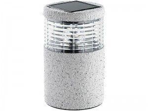 Ogrodowa lampa solarna LED (19 cm) zdjęcie 2