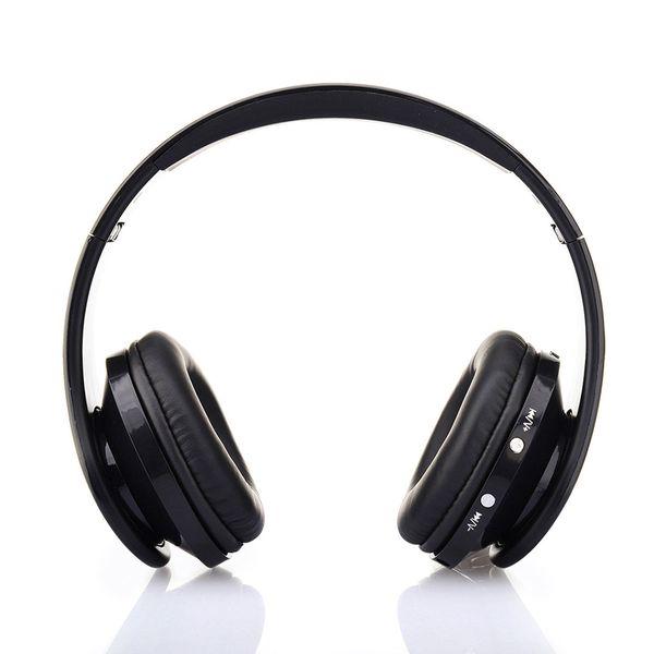 Słuchawki BEZPRZEWODOWE nauszne BLUETOOTH mikrofon CZARNE zdjęcie 4