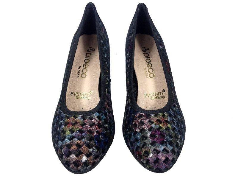 25f62782 Czółenka ARKA 5137 kolor Rozmiar obuwia - 37, Kolor - Kolorowy zdjęcie 4