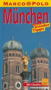 Munchen Marco Polo Reisefuhrer praca zbiorowa