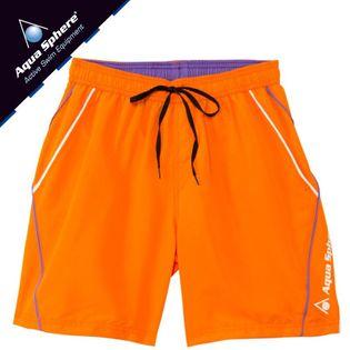 Szorty pływackie VOLGA Rozmiar - Stroje męskie - M, Kolor - Aqua Sphere - Stroje - pomarańczowy / biały