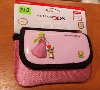 3DS etui Peach Brzoskwinia