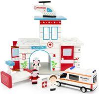 Drewniany Szpital + Ambulans Mercedes