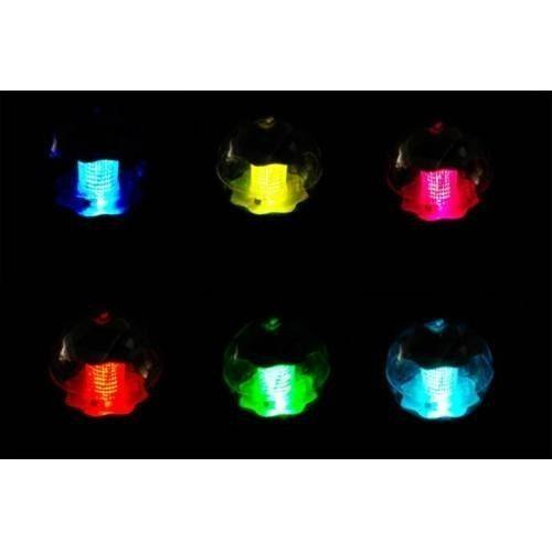 Lampa solarna kolorowa LED, lampion ogrodowy w kształcie kuli zdjęcie 3