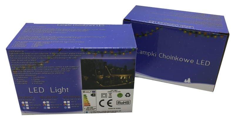 Lampki choinkowe białe 100 LED 10m + programator 8966-82356_20161121131847 na Arena.pl