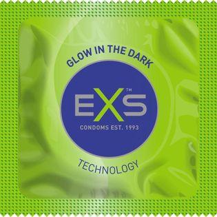 Prezerwatywa Świecąca W Ciemności - Exs Glow In The Dark