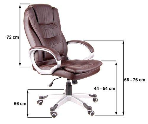 Fotel biurowy GIOSEDIO pomarańczowy,model BSU009 zdjęcie 5