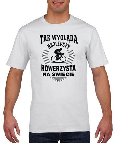 Koszulka męska NAJLEPSZY ROWERZYSTA NA SWIECI L na Arena.pl