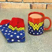 Skarpetki i Kubek Wonder Woman - DC Comics