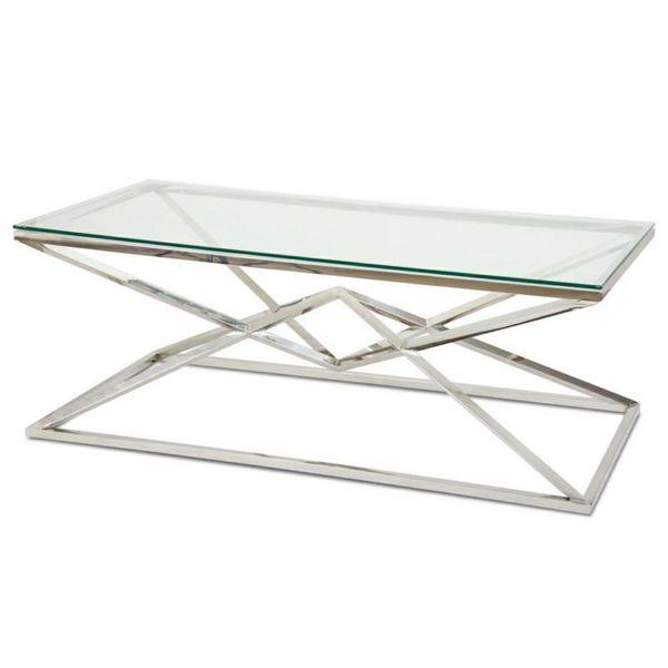 Stolik kawowy ława stół blat szkło hartowane zdjęcie 1