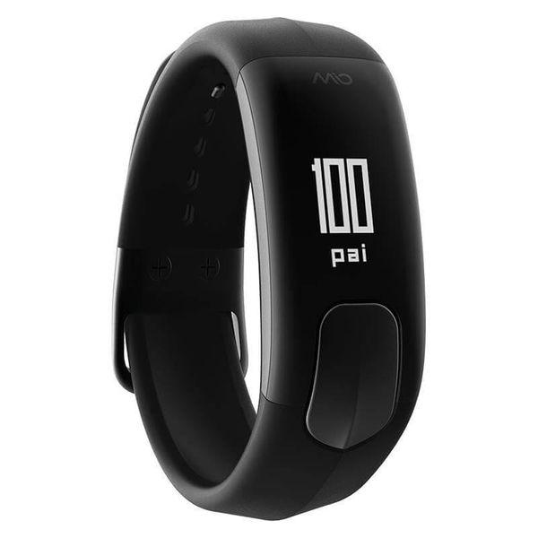 Mio SLICE Small - Opaska sportowa z pulsometrem (czarna) zdjęcie 9