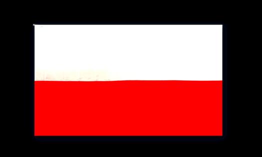 Flaga POLSKA 70X112 cm