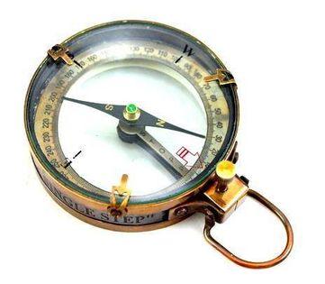 Kompas - mosiężny map reader NC2825