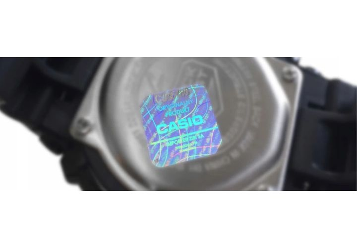 Zegarek damski Casio LTP-1283D-7A hologram zdjęcie 2