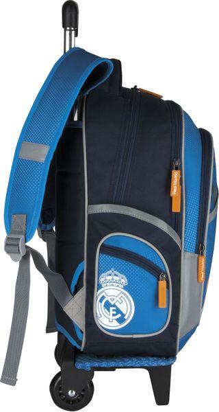 Plecak szkolny na kółkach Real Madyt + piórnik !!! zdjęcie 3