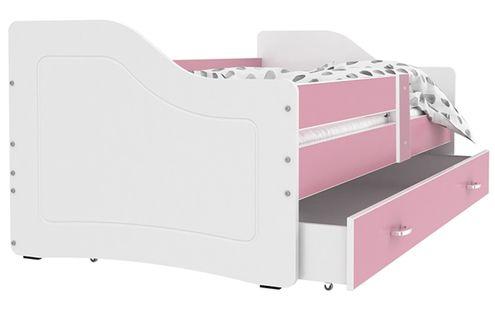 Łóżko SWEETY 180x80 szuflada + materac