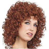 peruka BRĄZ kręcone włosy DISCO afro loczki loki