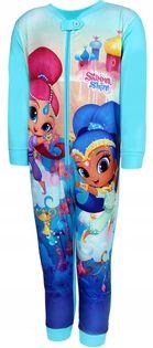 Piżama kombinezon Shimmer Shine dżin 104 mięta