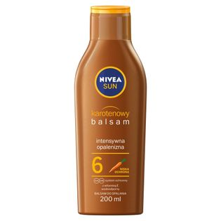 Nivea Sun Karotenowy Balsam Do Opalania Spf6 200Ml