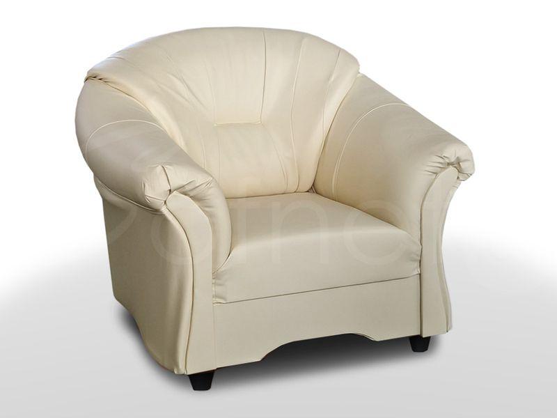 Wygodny Fotel Alex do salonu w ekoskórze - Różne kolory zdjęcie 3