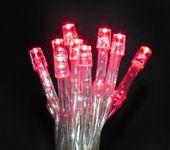 Lampki 10 LED na baterie - czerwony zdjęcie 32