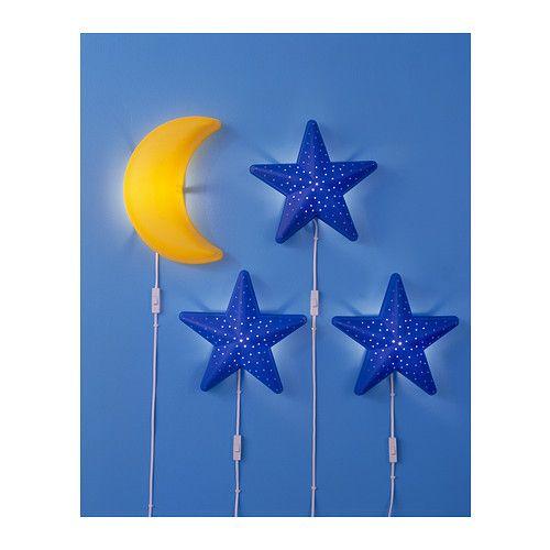Lampka Lampa Ścienna Nocna dla Dzieci Ikea zdjęcie 2