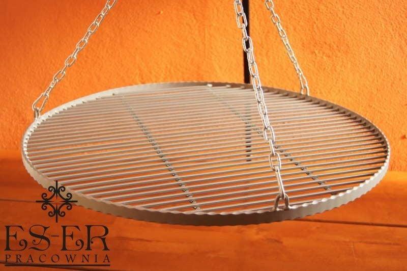 Ruszt do grilla wiszącego - stalowy - okrągły - 70 cm ES-ER zdjęcie 5