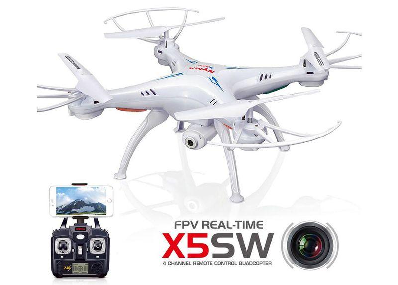 DRON SYMA X5SW kamera WIFI PODGLĄD - 2 BATERIE zdjęcie 3