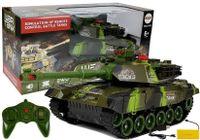 Duży Czołg Zdalnie Sterowany R/c 2.4 Ghz Światła Odgłosy Strzelania Zielony