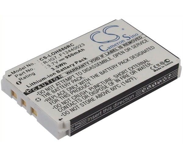 Bateria Akumulator do Pilota Logitech Harmony One zdjęcie 1
