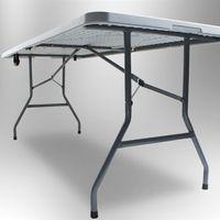 15850 Stół rozkładany do ogrodu na piknik kempingowy stolik duży XXL
