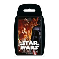 Gra Karciana  Top Trumps Star Wars IV-VI