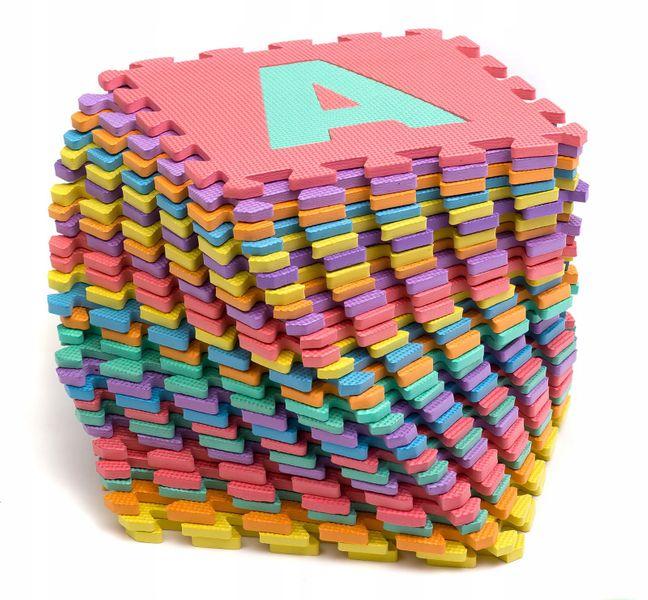 Mata edukacyjna zestaw alfabet puzzle piankowe 26 zdjęcie 1