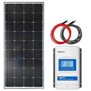 Zestaw solarny 170W 12V MPPT Xtra