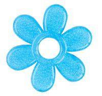 Babyono żelowy gryzak dla niemowląt na ząbkowanie - Kwiatek
