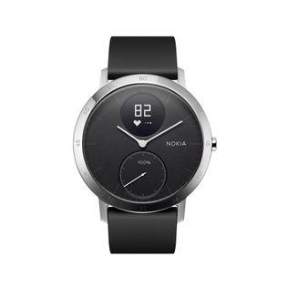 Nokia Activité Steel HR - smartwatch z pomiarem pulsu (czarny 40mm)